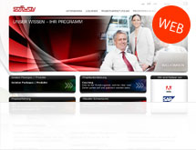 Softway AG mit neuer Website